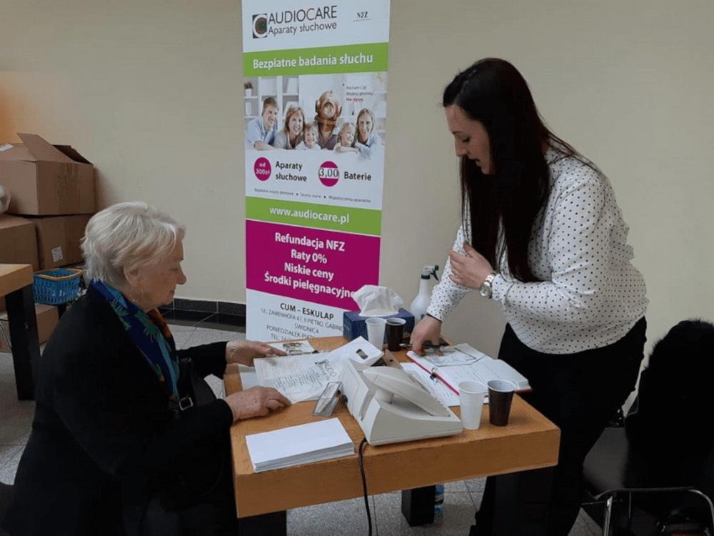 AUDIOCARE | Prelekcja zdrowy słuch Klub Aktywnego Seniora